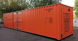 Контейнеры для энергообеспечения крупнотоннажных рефрижераторных контейнеров