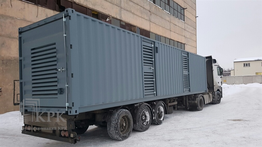Дизель-генераторный контейнер для рефрижераторных контейнеров