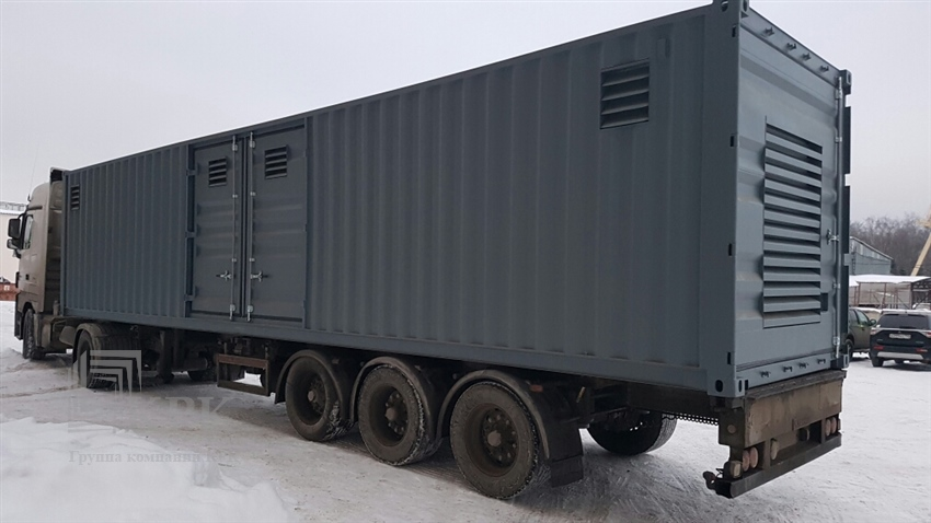 Изготовление спецконтейнеров для энергообеспечения рефрижераторных вагонов