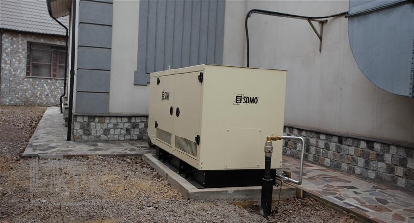 Монтаж и техническое обслуживание газового генератора