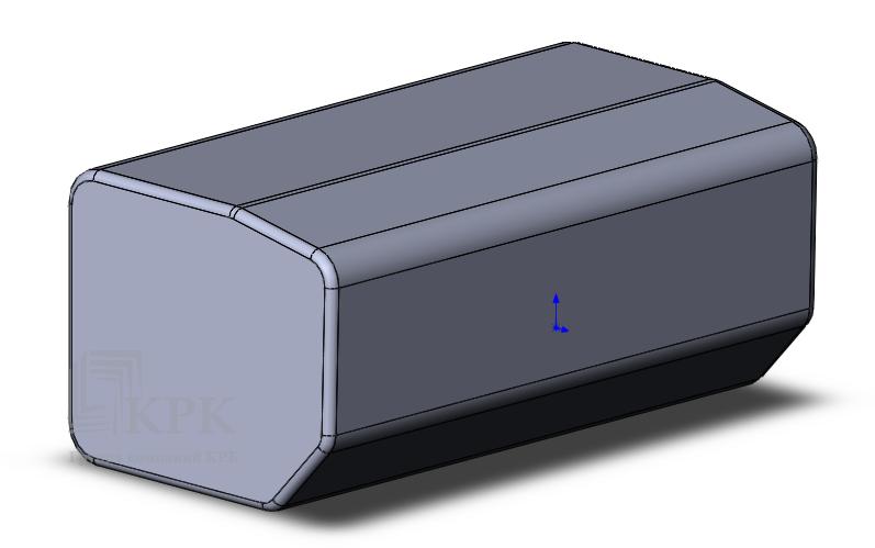 3D модель бака РЕНО