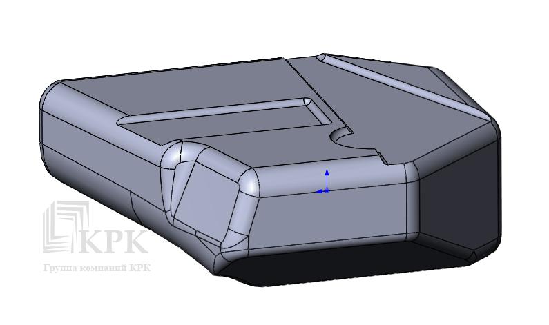 3D модель топливного бака FIAT DUCATO