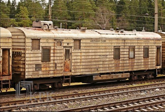 Старый вагон